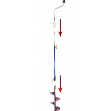 Удлинитель телескопический для ледобура Неро 45-75