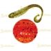 Volzhanka Tailed Worm 130 цвет 1009 (в упак. 6шт)