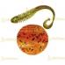 Volzhanka Tailed Worm 130 цвет 1010 (в упак. 6шт)