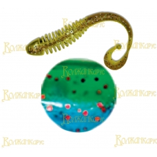 Volzhanka Tailed Worm 130 цвет 2002 (в упак. 6шт)