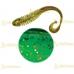 Volzhanka Tailed Worm 130 цвет 1001 (в упак. 6шт)